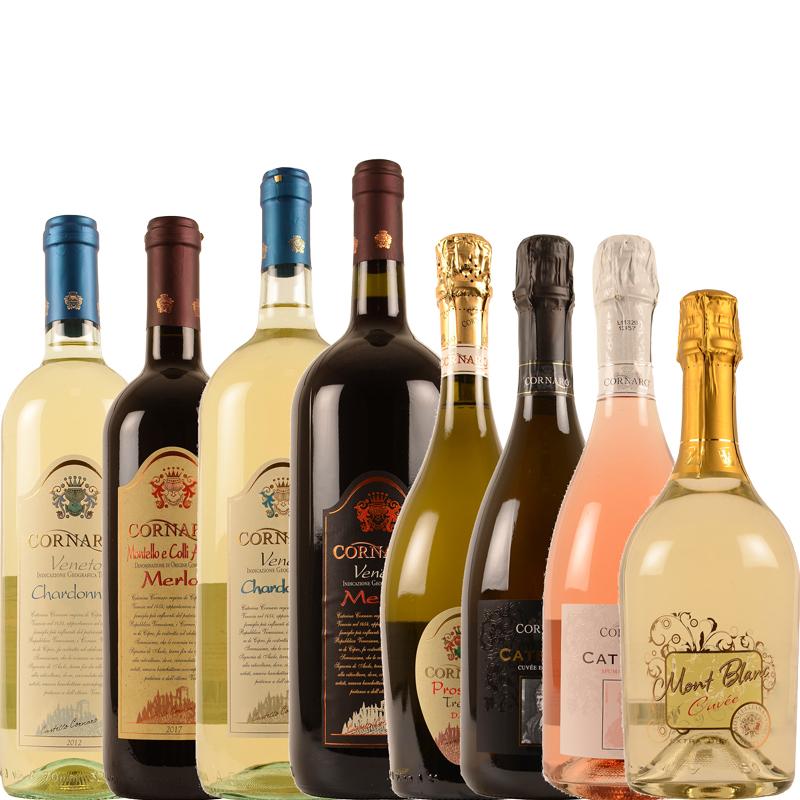 Cornaro wijnen assortiment