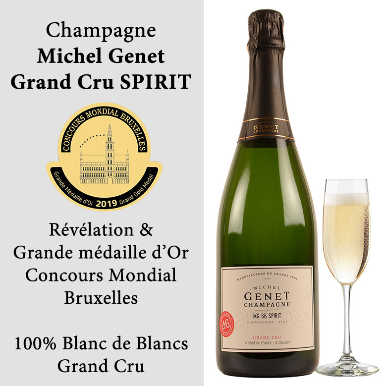 Champagne Genet Medaille