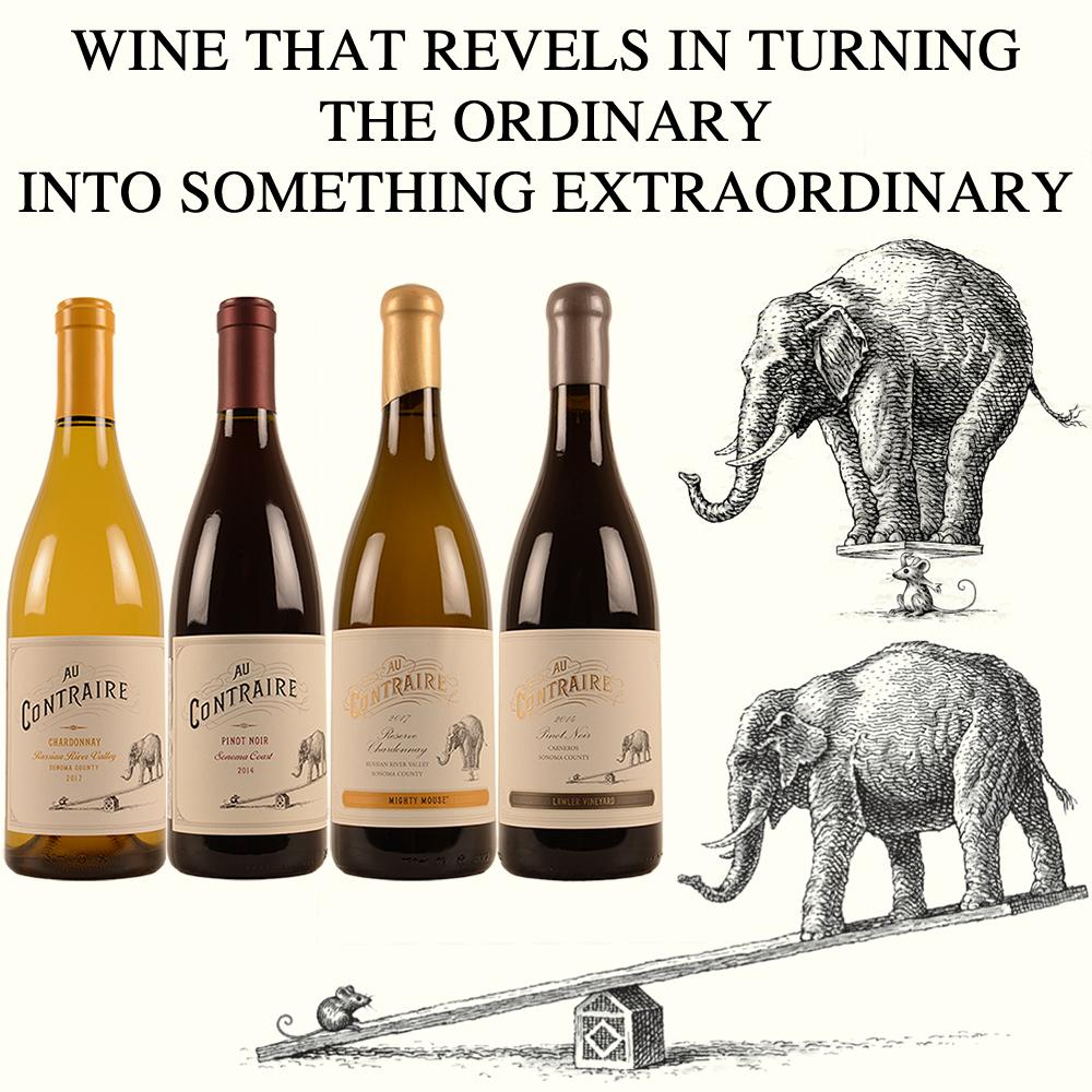 Au contraire Amerikaanse wijn USA