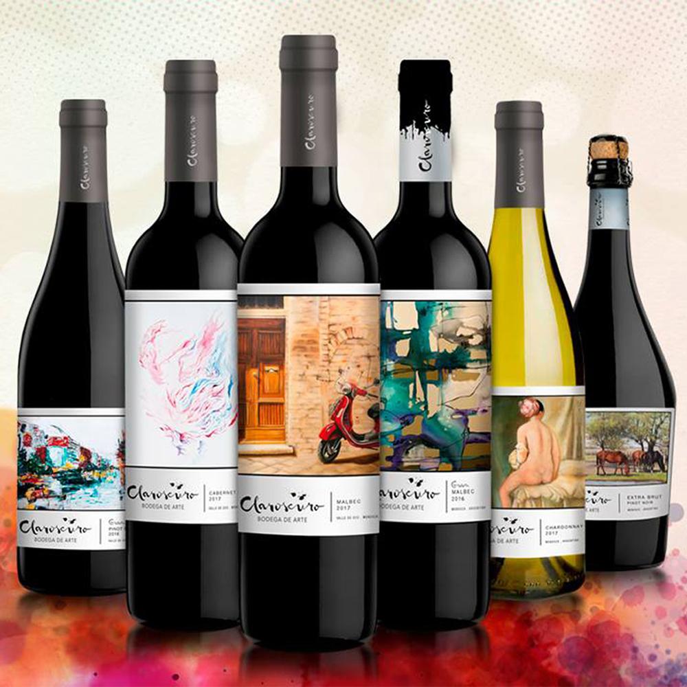 Promo Claroscuro wijn Argentinië