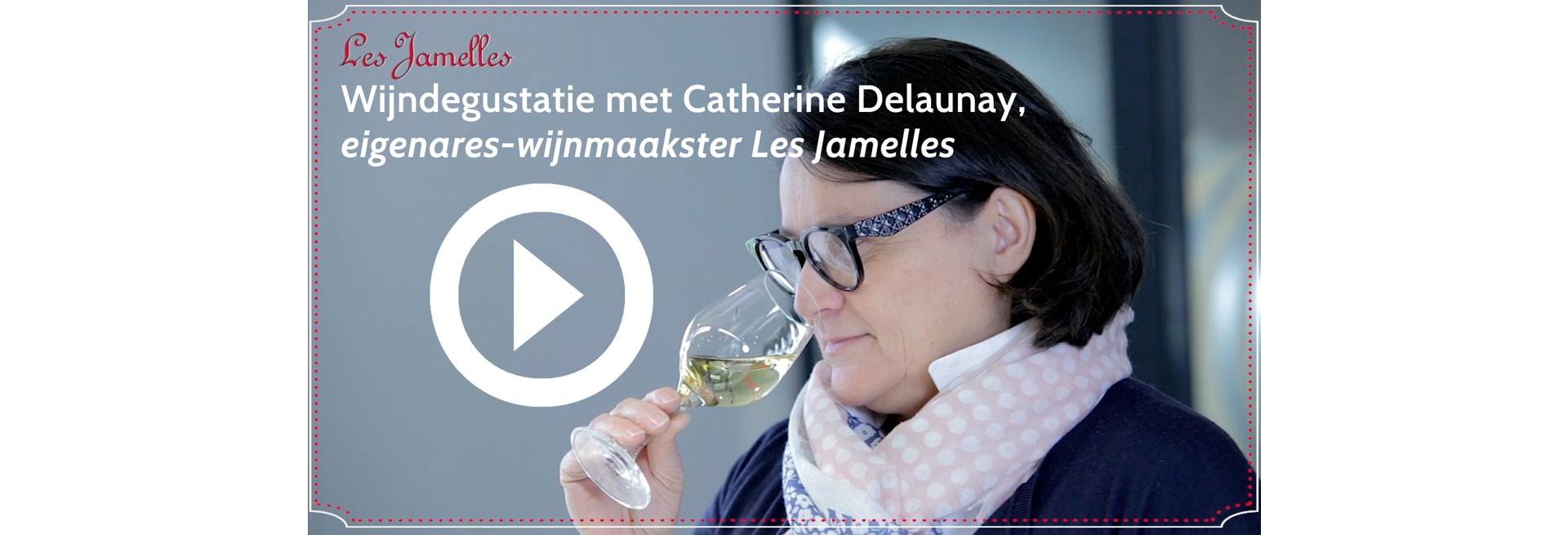 Les Jamelles Languedoc wijnen degustatie Catherine Delaunay