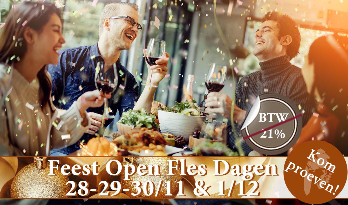 Feest Open Fles Dagen Het Wijnhuis