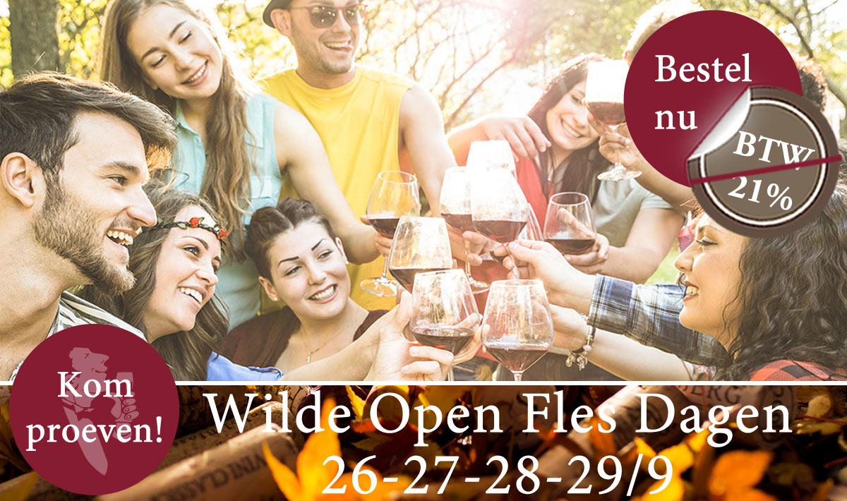 Open Fles Dagen Het Wijnhuis