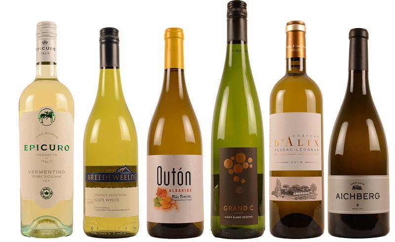 Langoustine wijnen wit gerecht