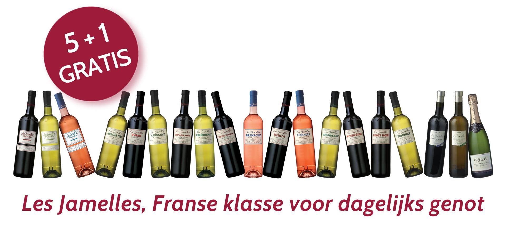 Les Jamelles Languedoc wijnen