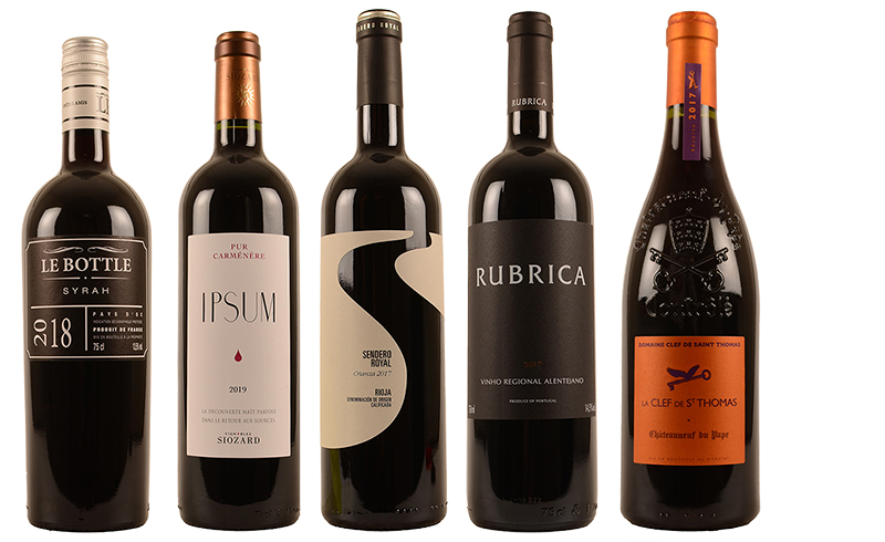 Reebok wijnen gerecht rood