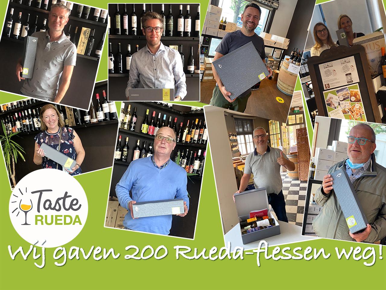 Rueda Spaanse wijn wijnpakketten proefboxen wijnboxen lekkere geschenken