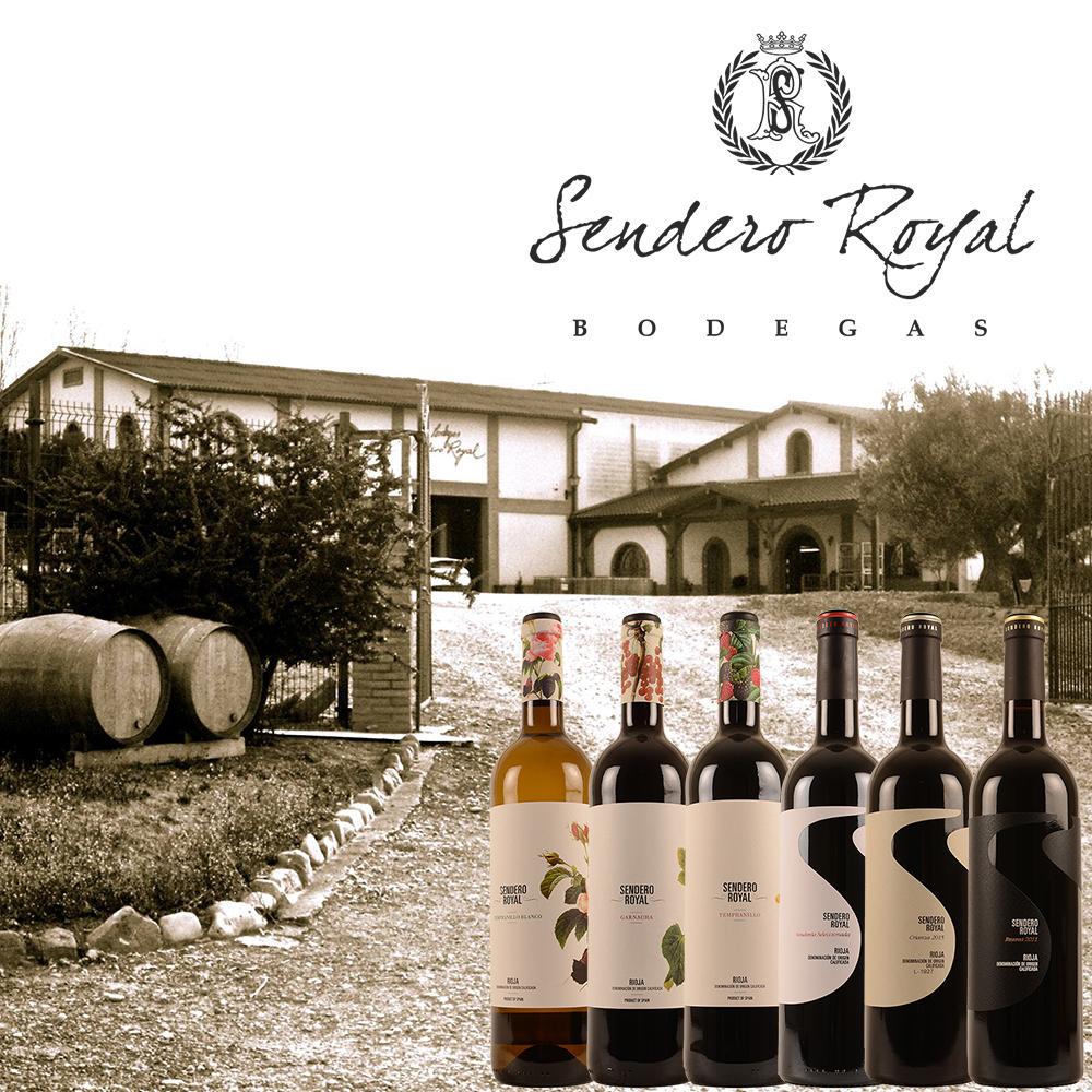 Promo wijn Sendero Royal Spanje