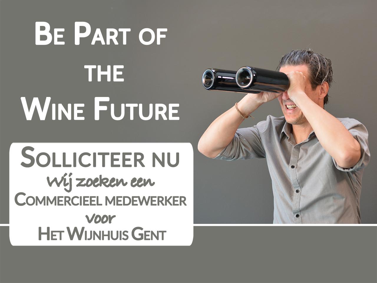 vacature commercieel medewerker Het Wijnhuis Gent solliciteer