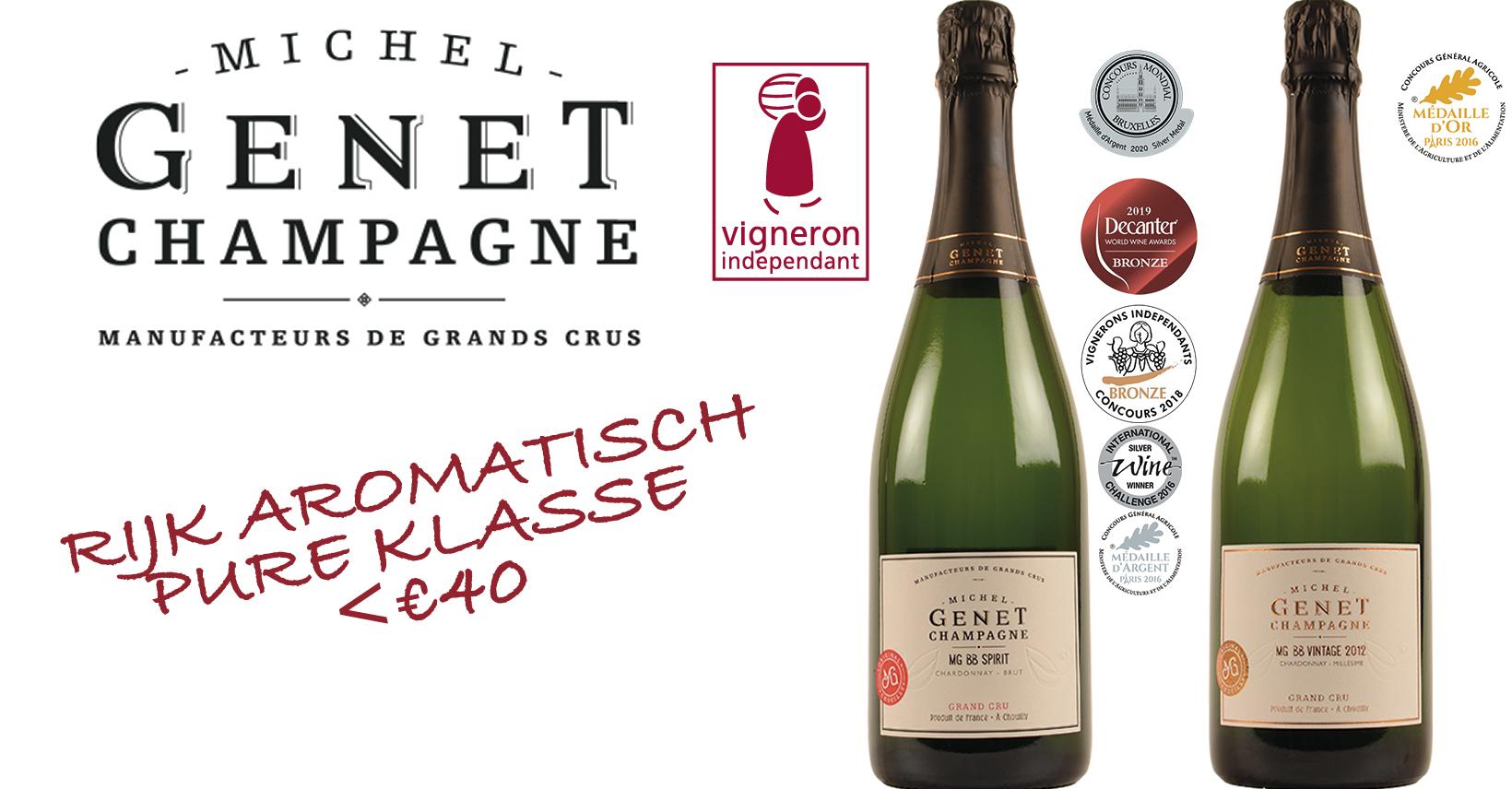 Champagne Michel Genet Frankrijk promo