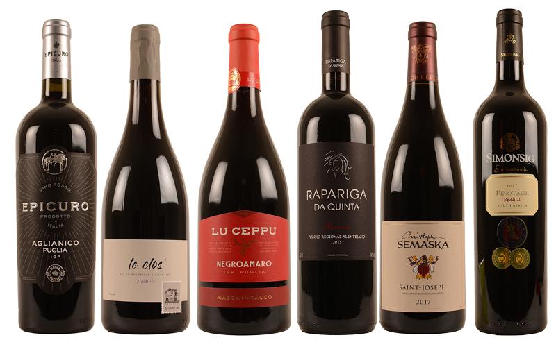 hert wijn gerecht rood