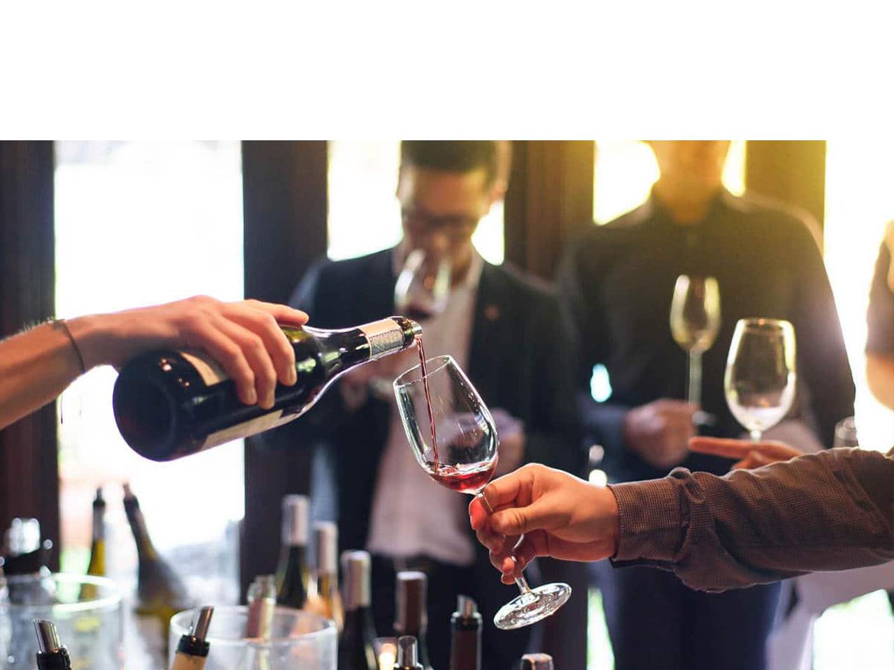 proeven degustatie wijn Het Wijnhuis