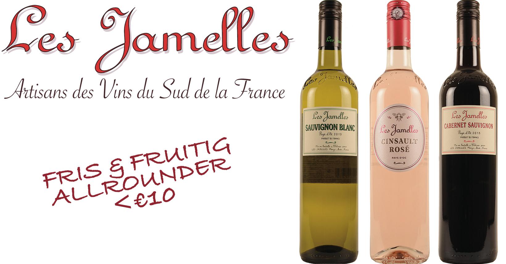 Les Jamelles Promo franse wijn dagdagelijks