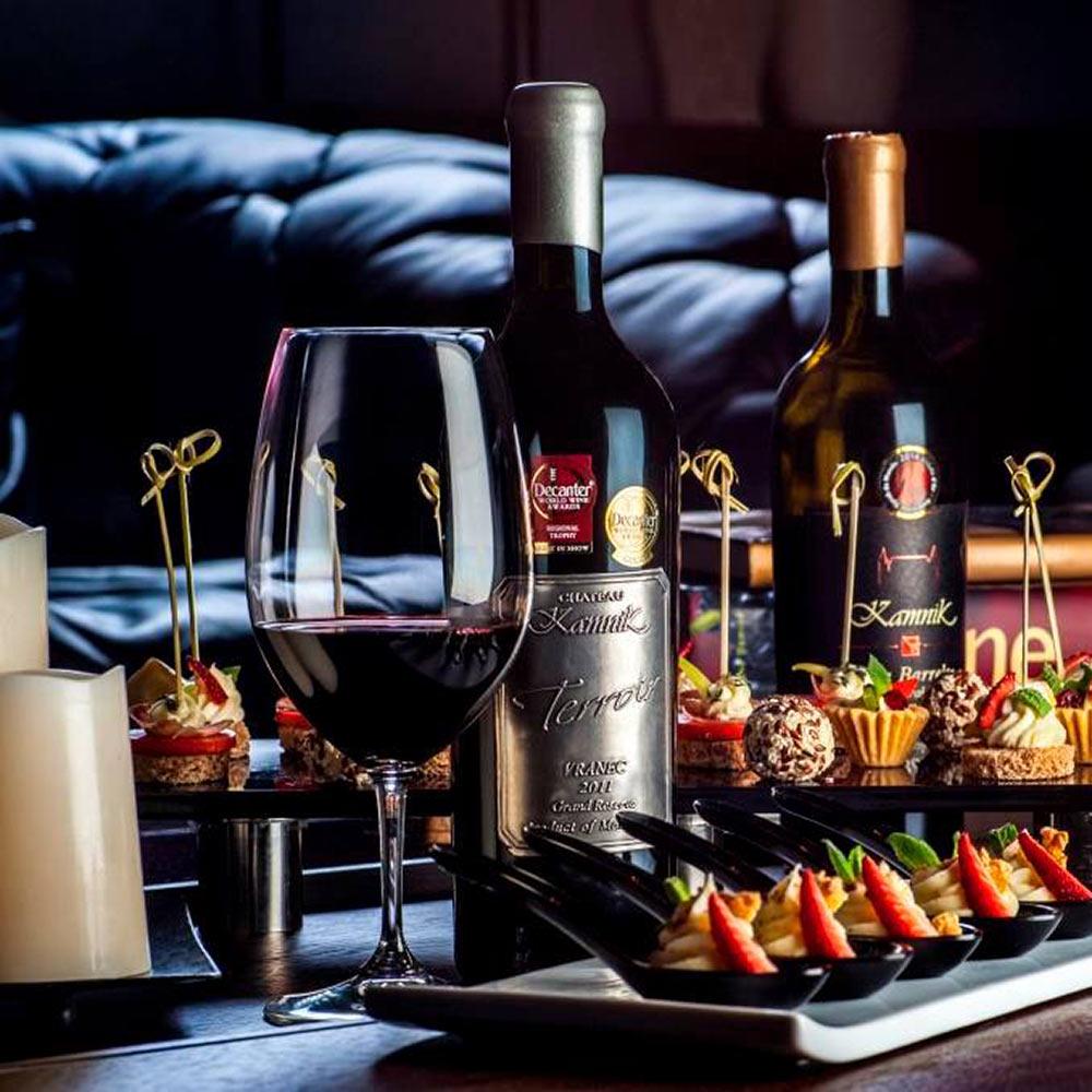 Kamnik rode wijnen