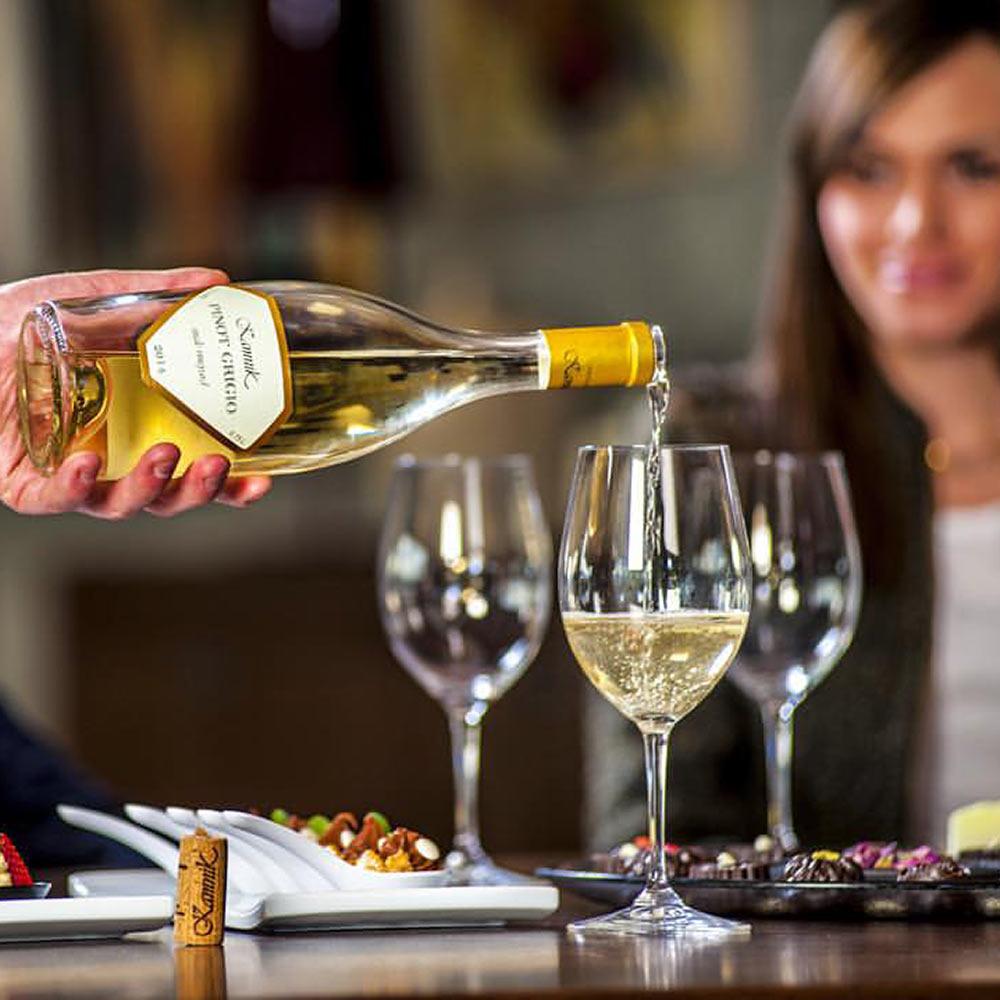 Kamnik witte wijnen