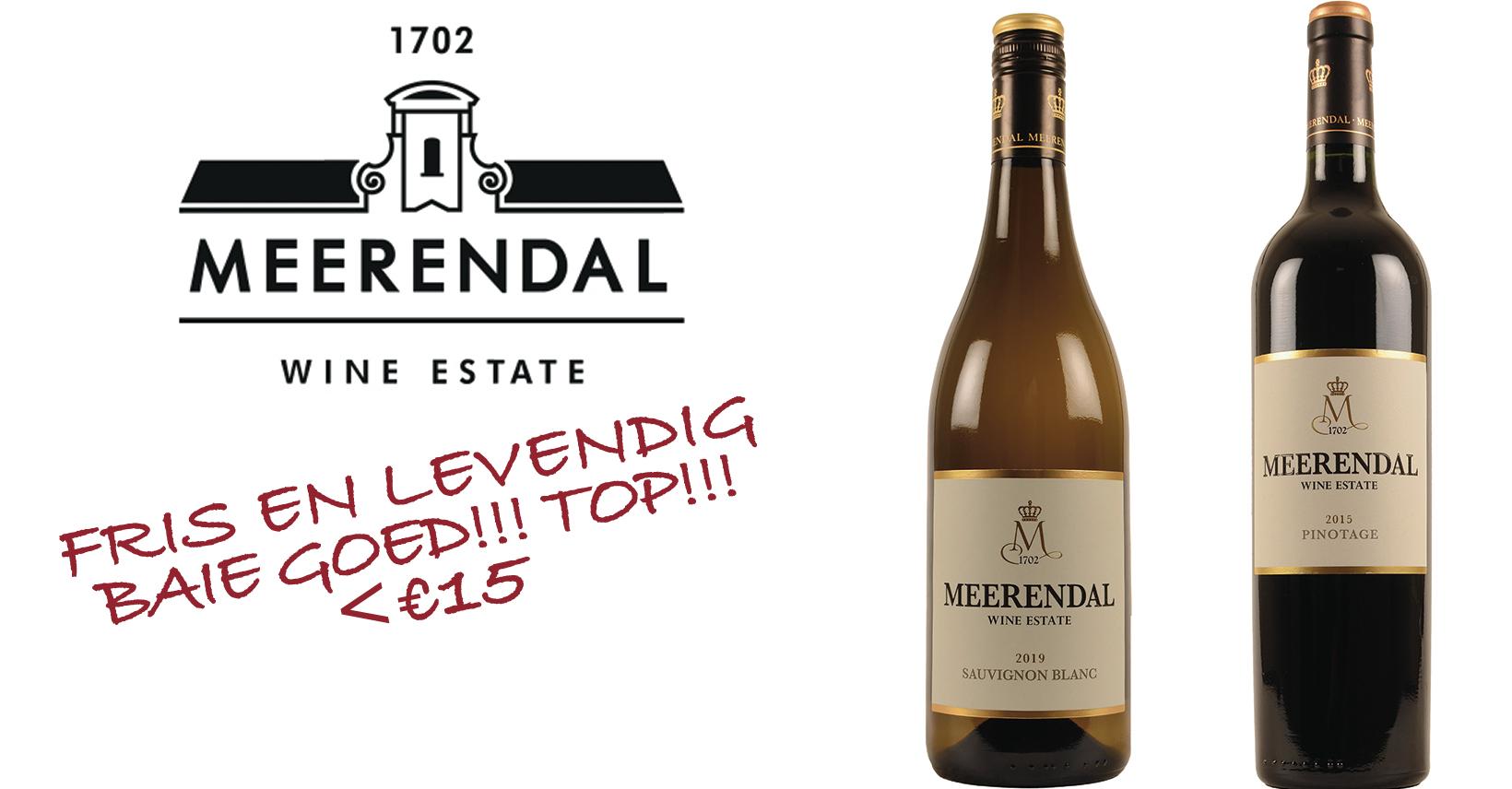 Meerendal Promo Zuid-Afrikaanse wijn Afrika