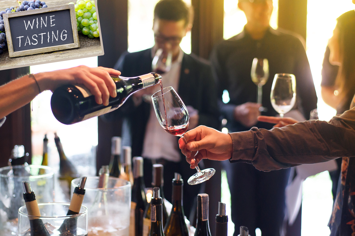 Tasting Het Wijnhuis proeverij