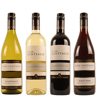 Casa Santiago wijnen