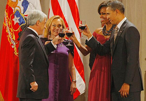 President Obama op bezoek in Chili