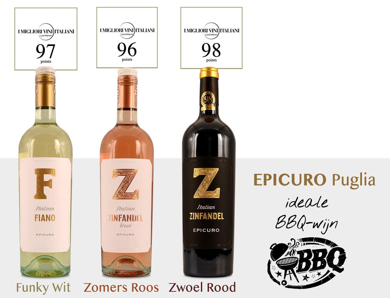 Epicuro BBQ wijnen