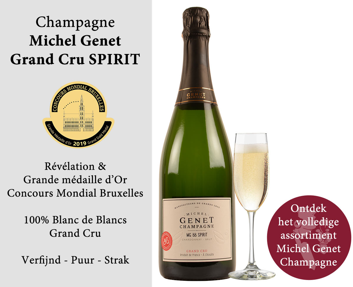 Champagne Michel Genet Gouden medaille