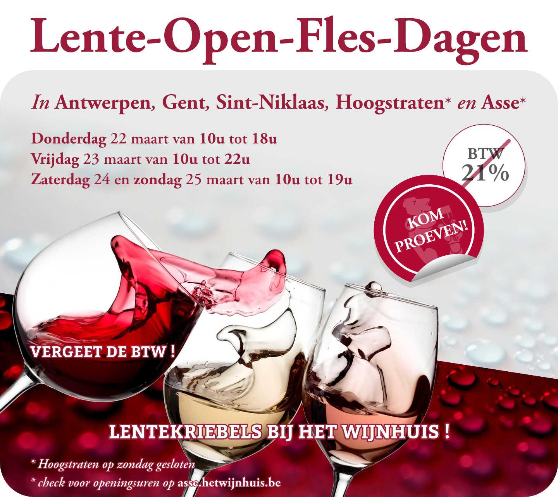 Lente Open Fles Dagen