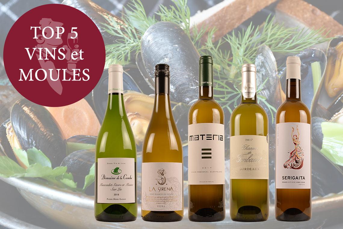 Top 5 Vins et Moules