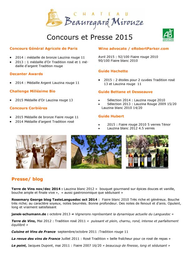 Concours Guides 2015