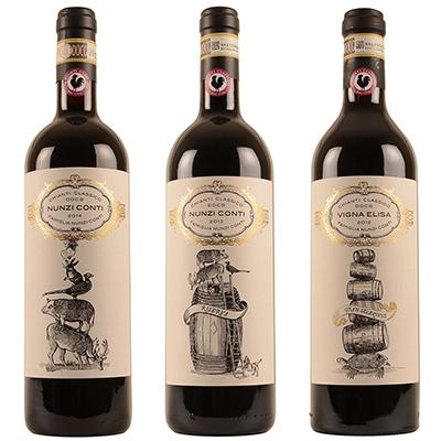 Nunzi Conti wijnen