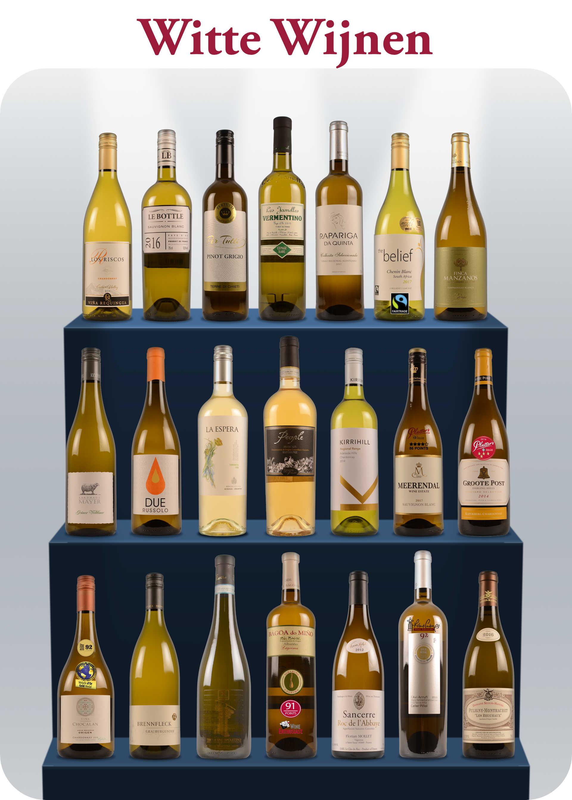 Lente Open Fles witte wijnen