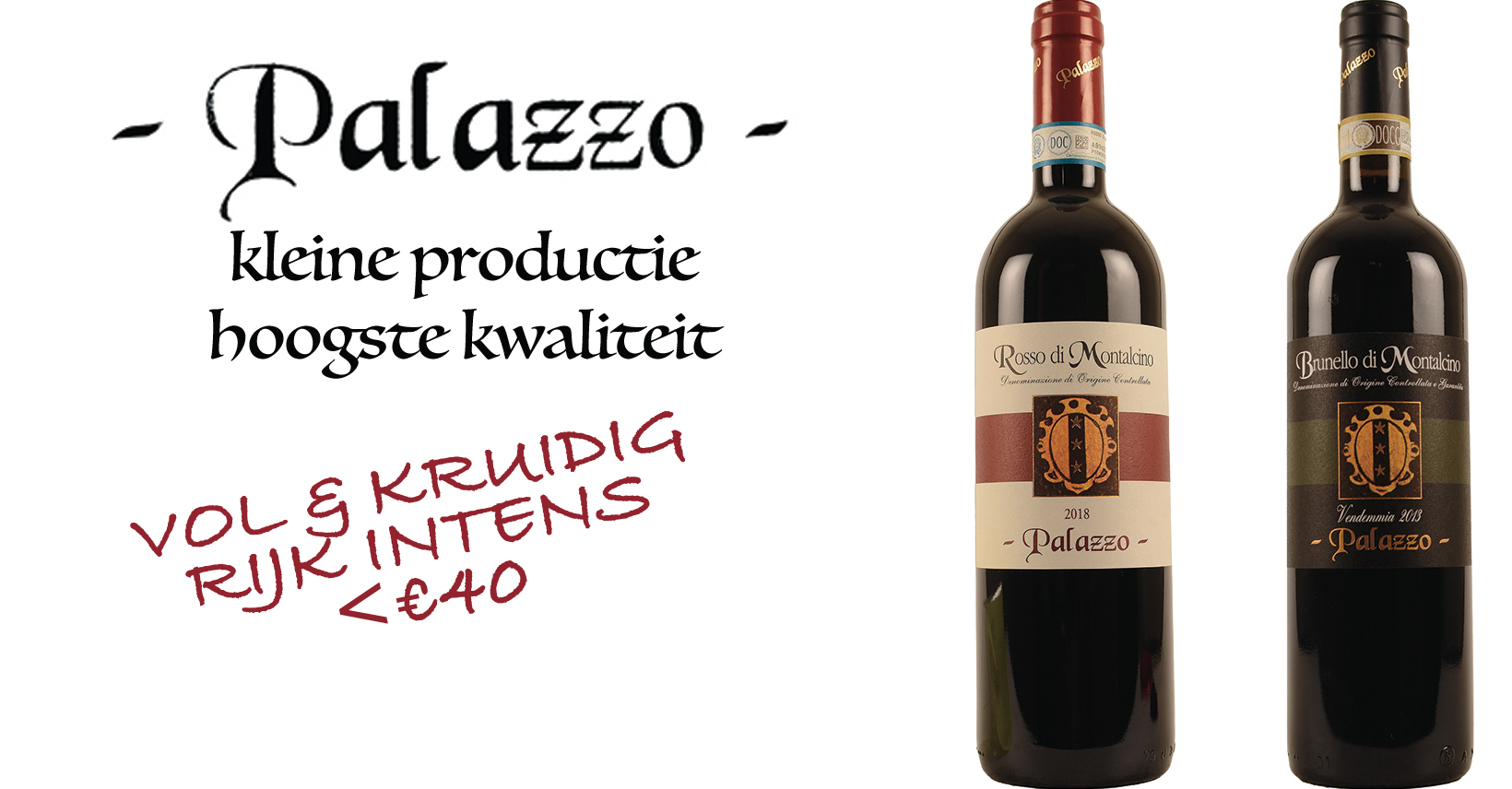 Palazzo Italiaanse wijn promo toscane montalcino