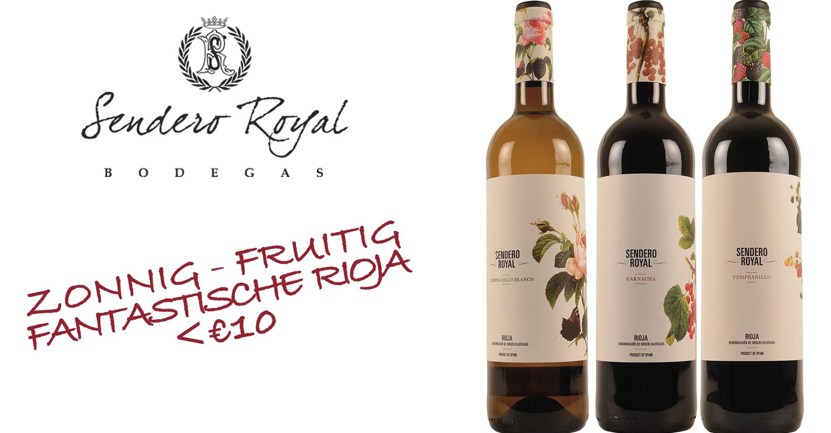 sendero royal rioja top wijn spaans Promo spanje