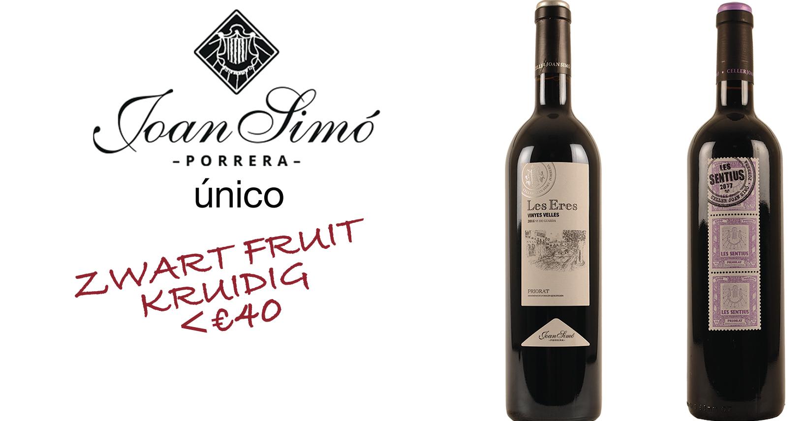 Priorat Joan Simo wijn promo