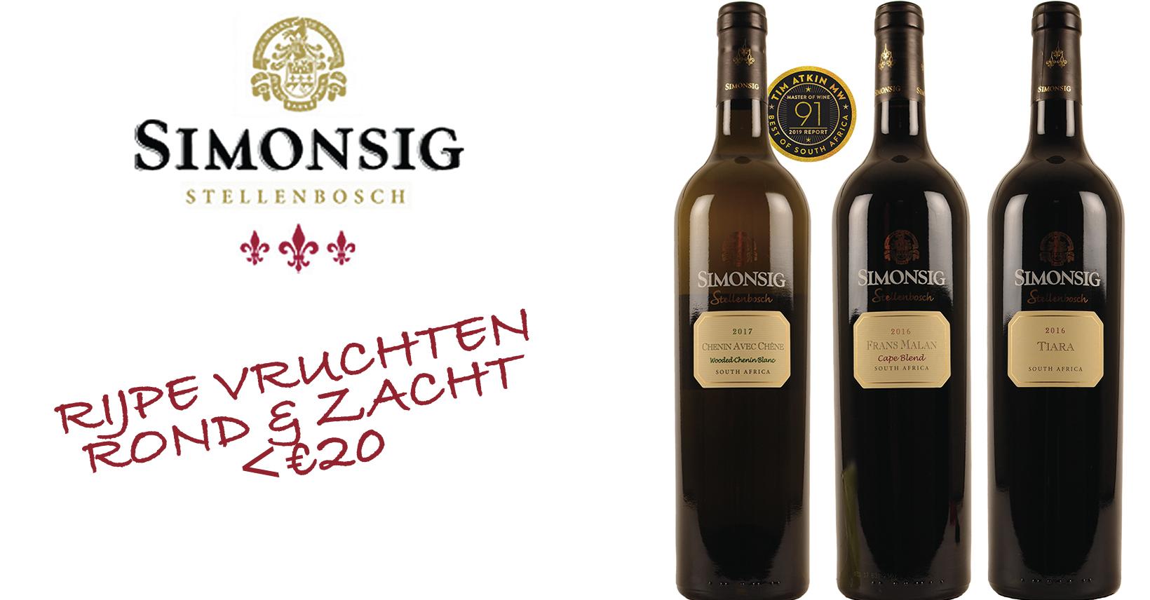 simonsig top wijn zuid-afrika zuid-afrikaans promo stellenbosch