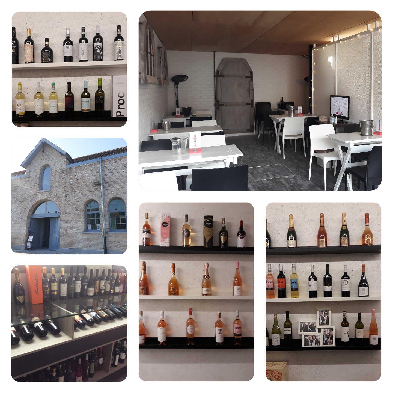 Enkele sfeerbeelden van de opening van Het Wijnhuis Kortrijk-Heule - Vinotage